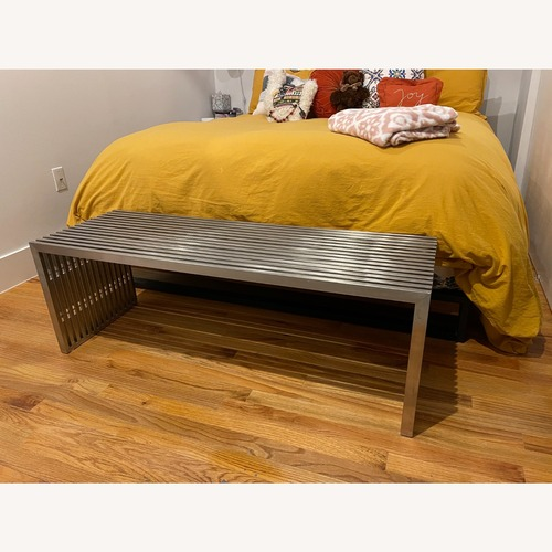 Used Nuevo Living Amici Bench for sale on AptDeco