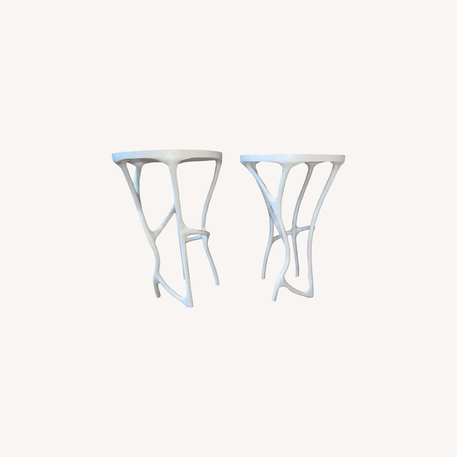 Made Good Iron-Resin Side Tables - image-0