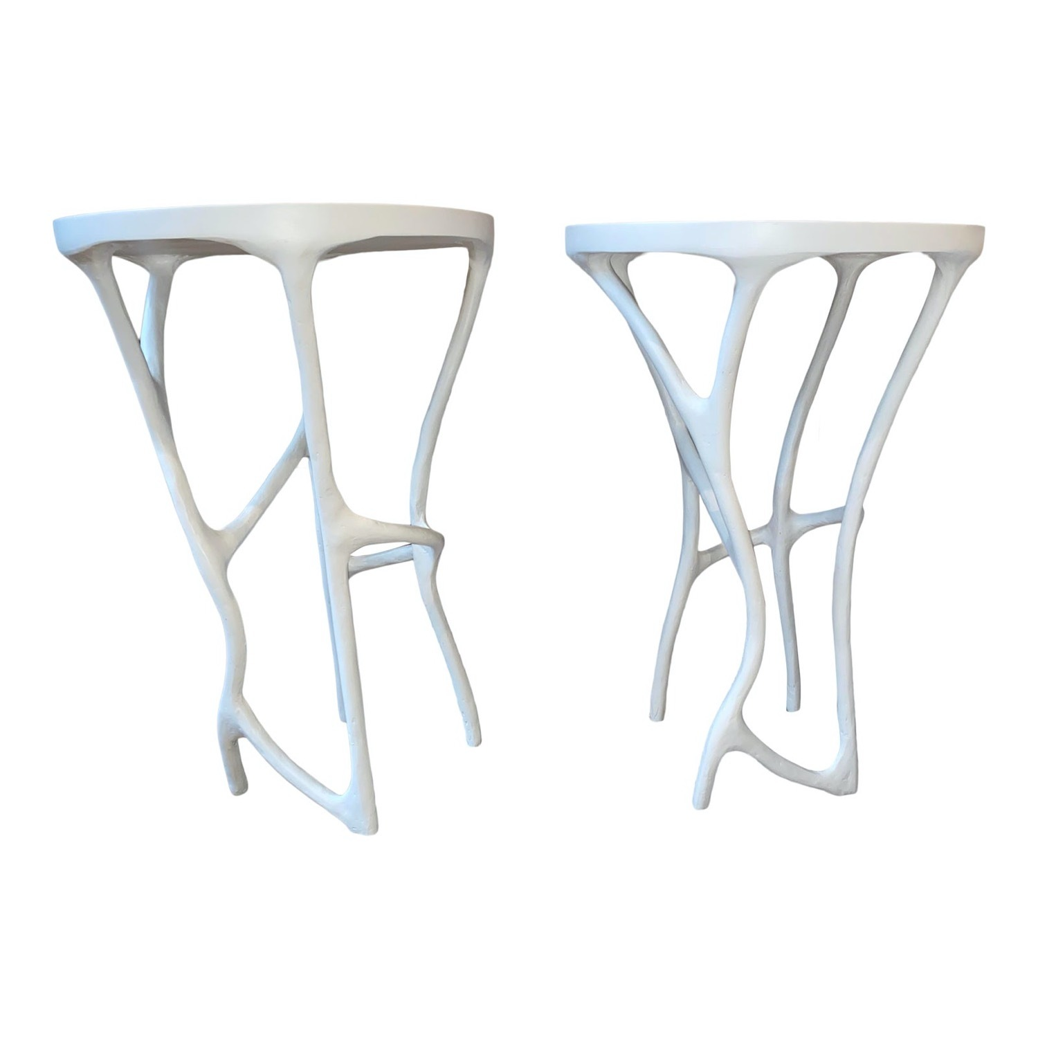 Made Good Iron-Resin Side Tables - image-1
