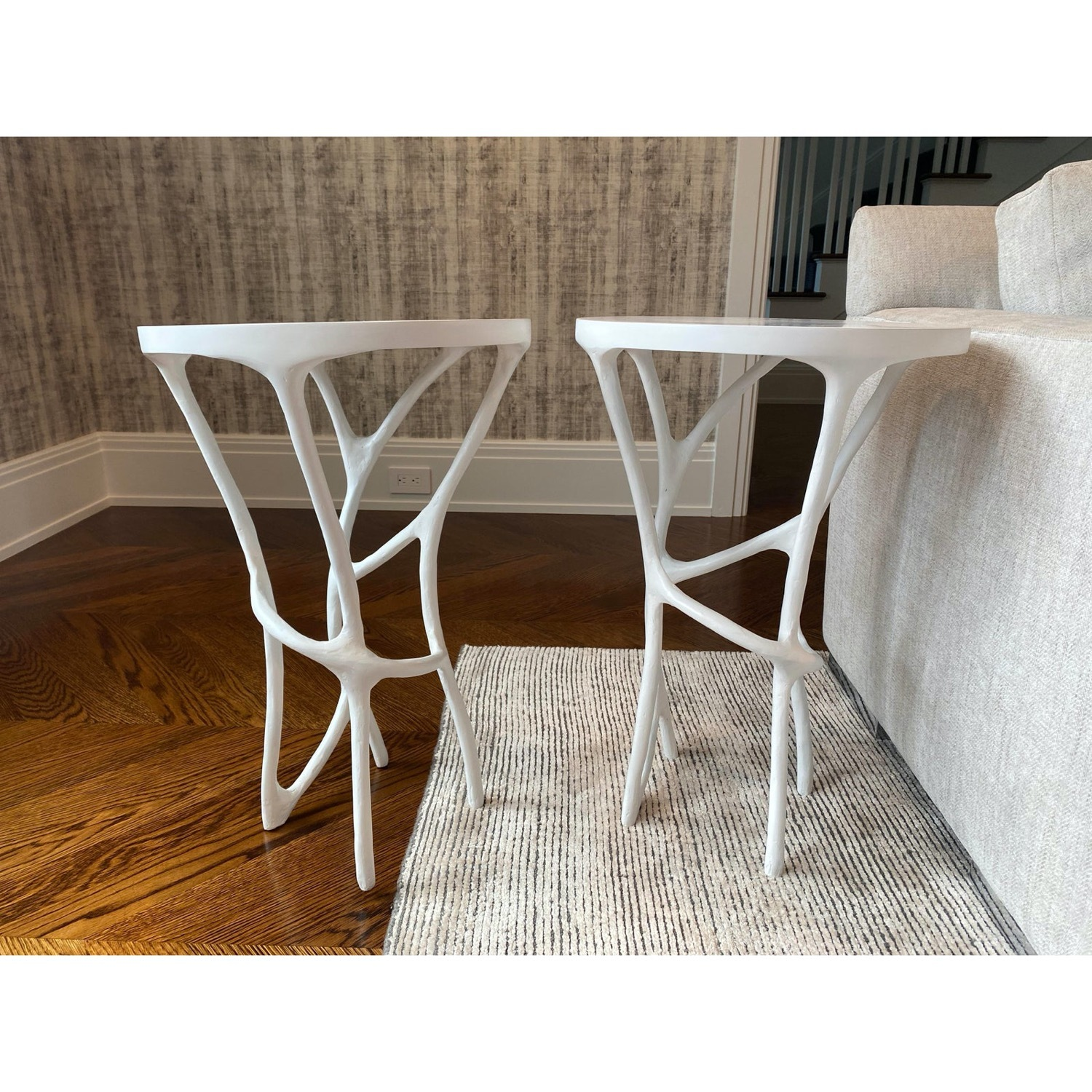 Made Good Iron-Resin Side Tables - image-2