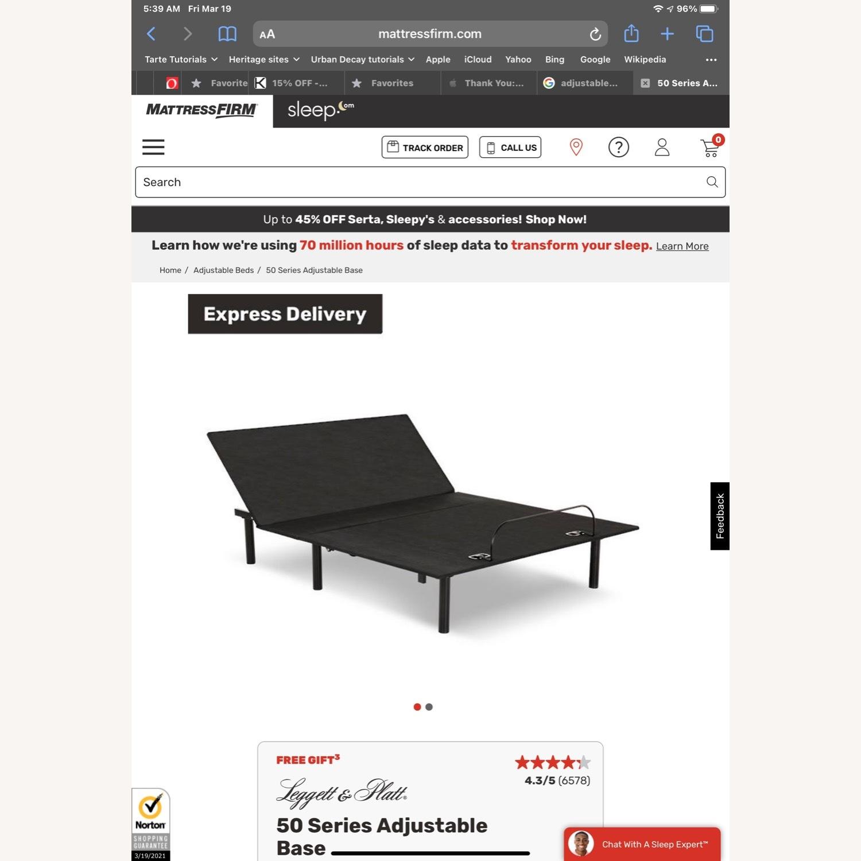 Leggett & Platt Queen Size Adjustable Bed Frame - image-1