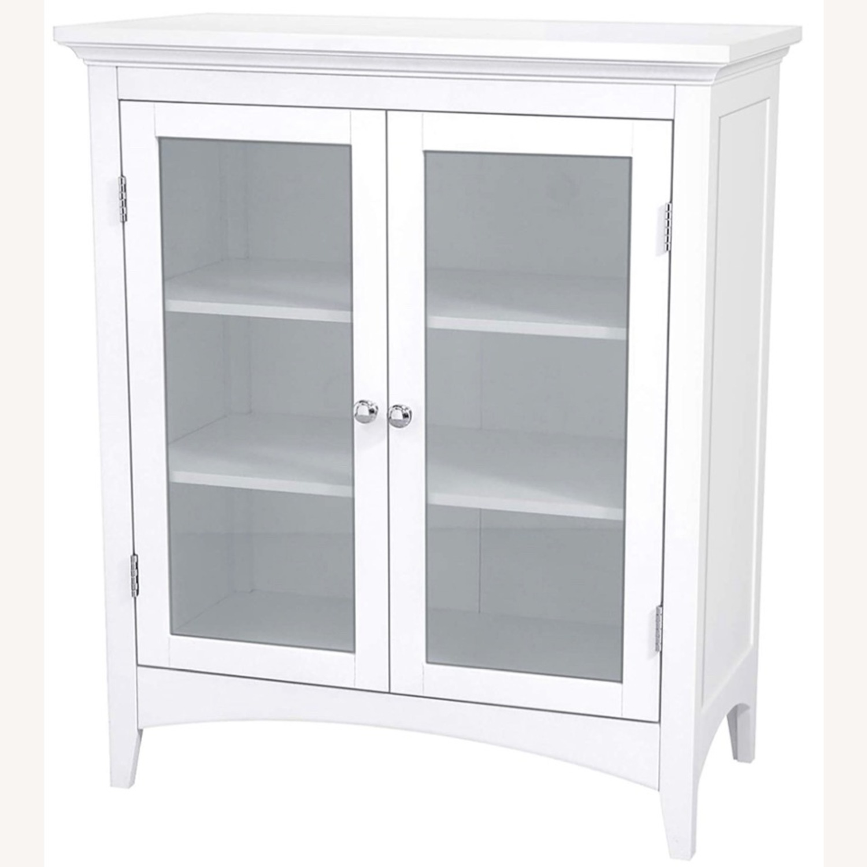 White 2-Door Cabinet - image-0