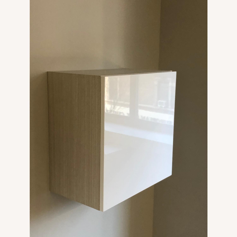 Lazzoni White Media Wall Units (Set of 4) - image-0