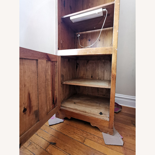 Used Well Worn Rustic Cabinet for sale on AptDeco