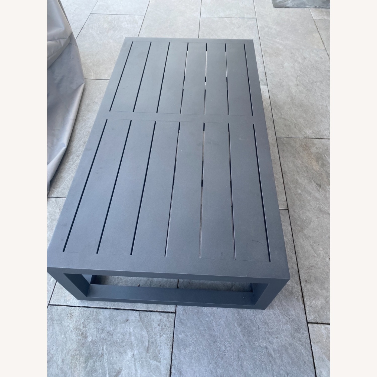 Restoration Hardware Outdoor Coffee Table - image-1