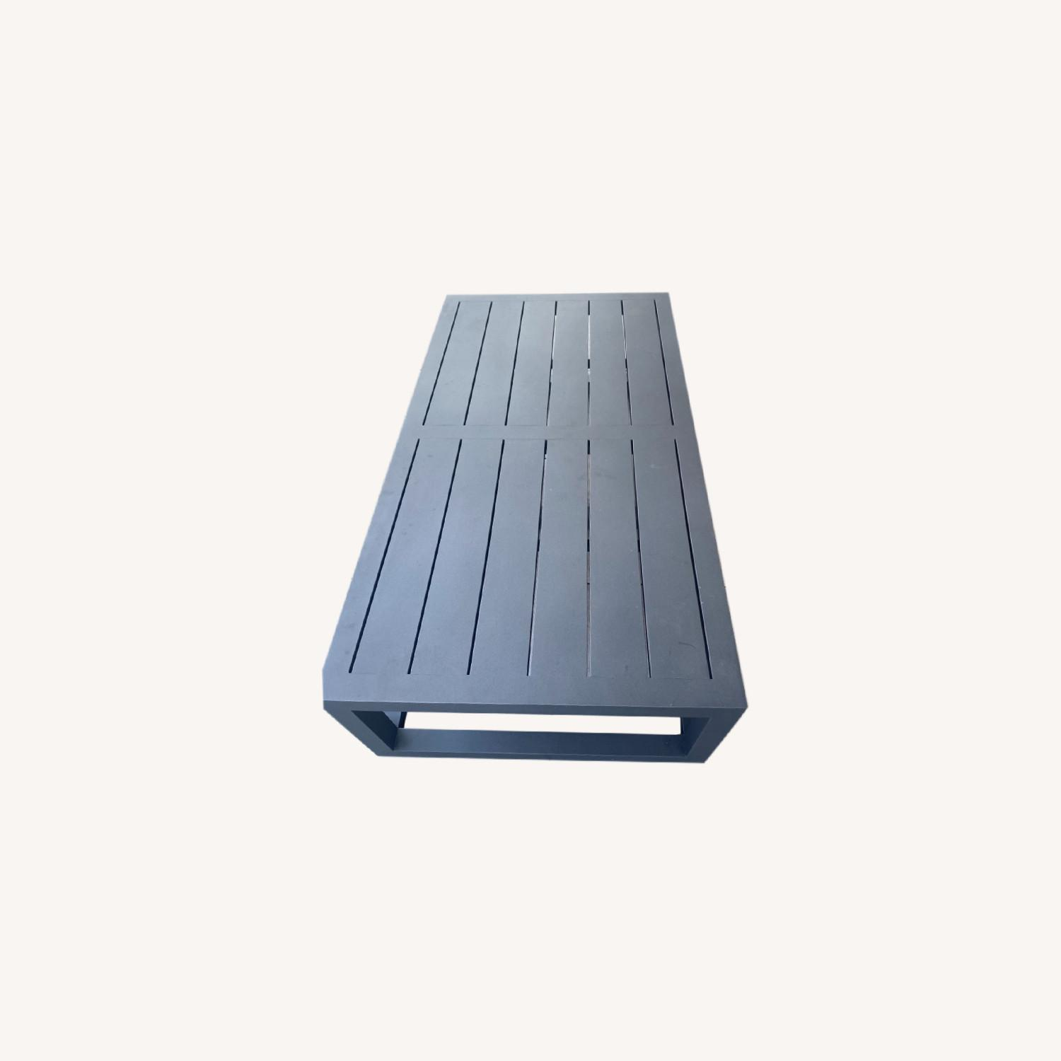 Restoration Hardware Outdoor Coffee Table - image-0