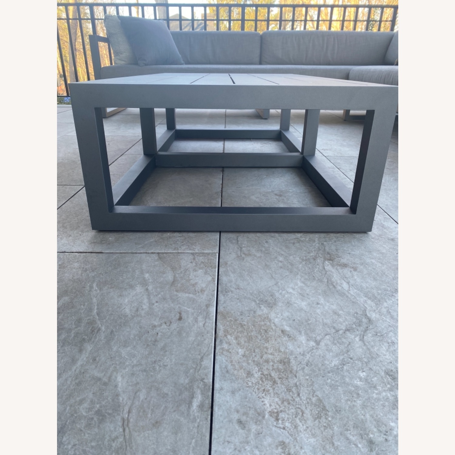 Restoration Hardware Outdoor Coffee Table - image-4