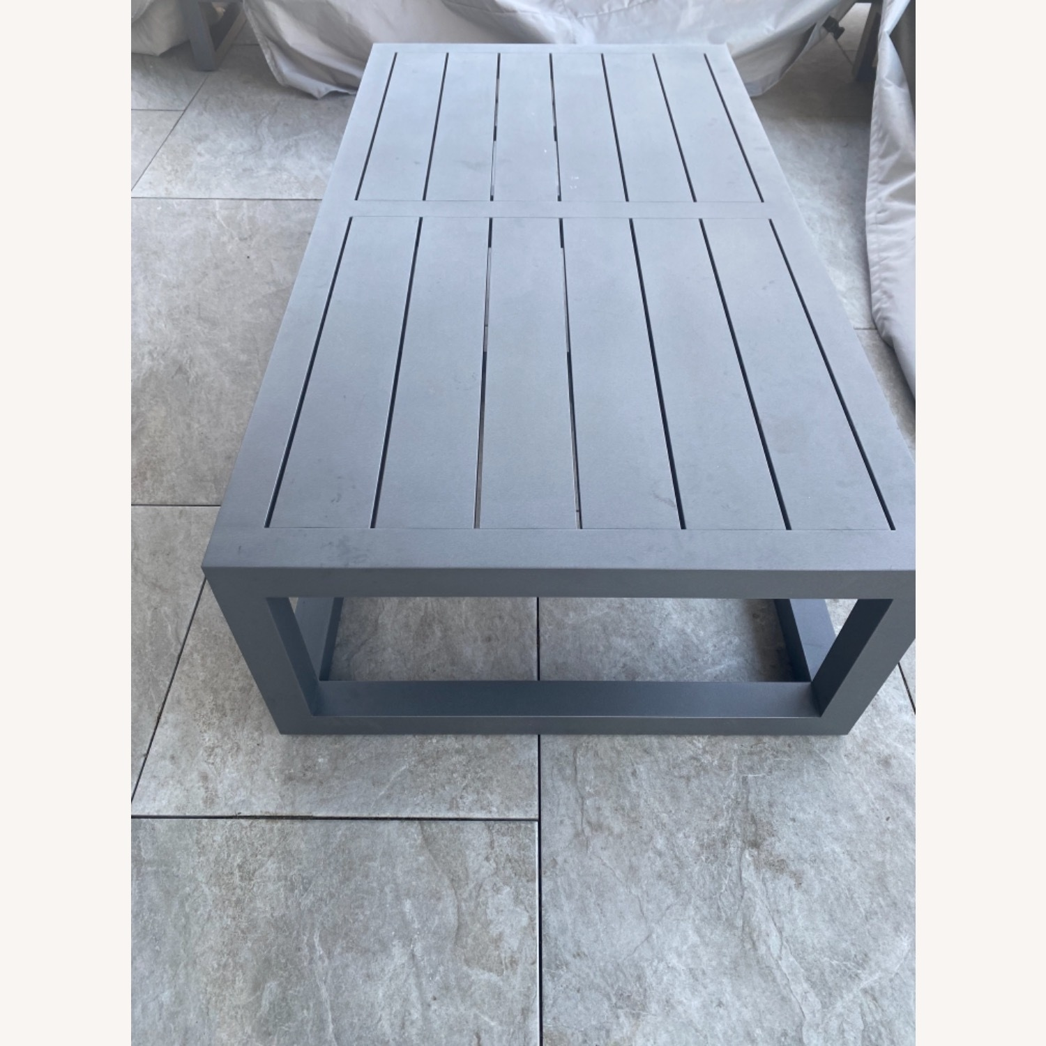 Restoration Hardware Outdoor Coffee Table - image-2