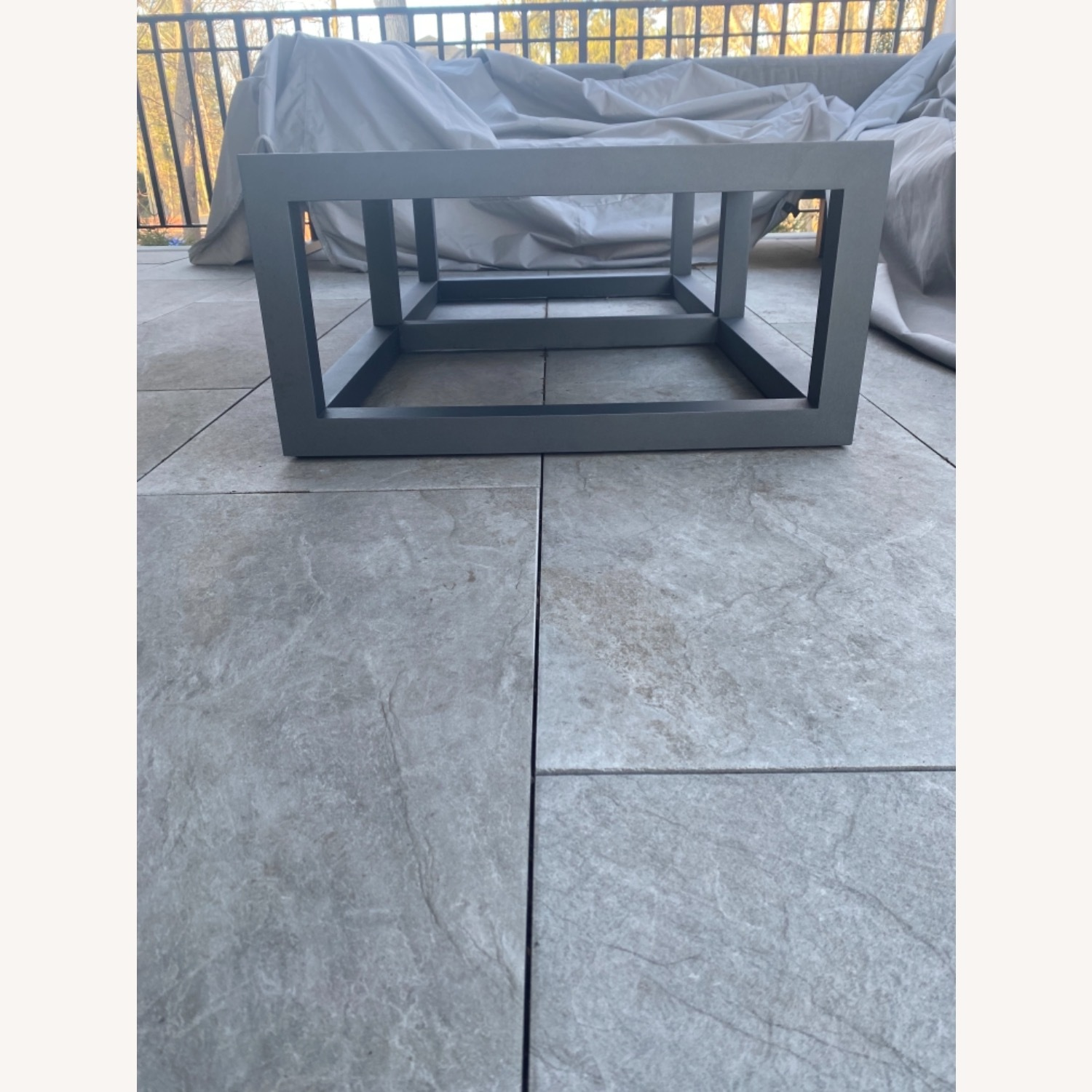 Restoration Hardware Outdoor Coffee Table - image-3