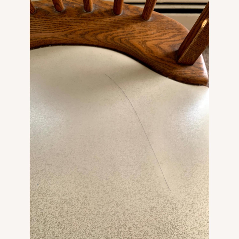 Vintage Oak Dining Set (5 piece) - image-8