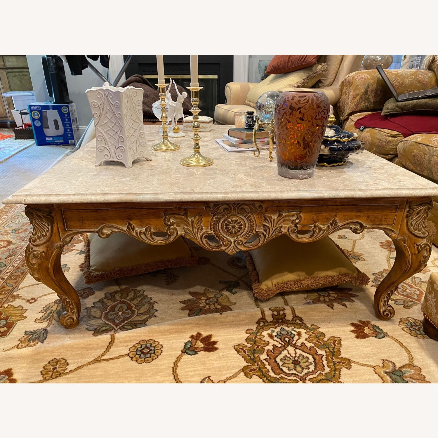 Marble Coffee Table - image-4