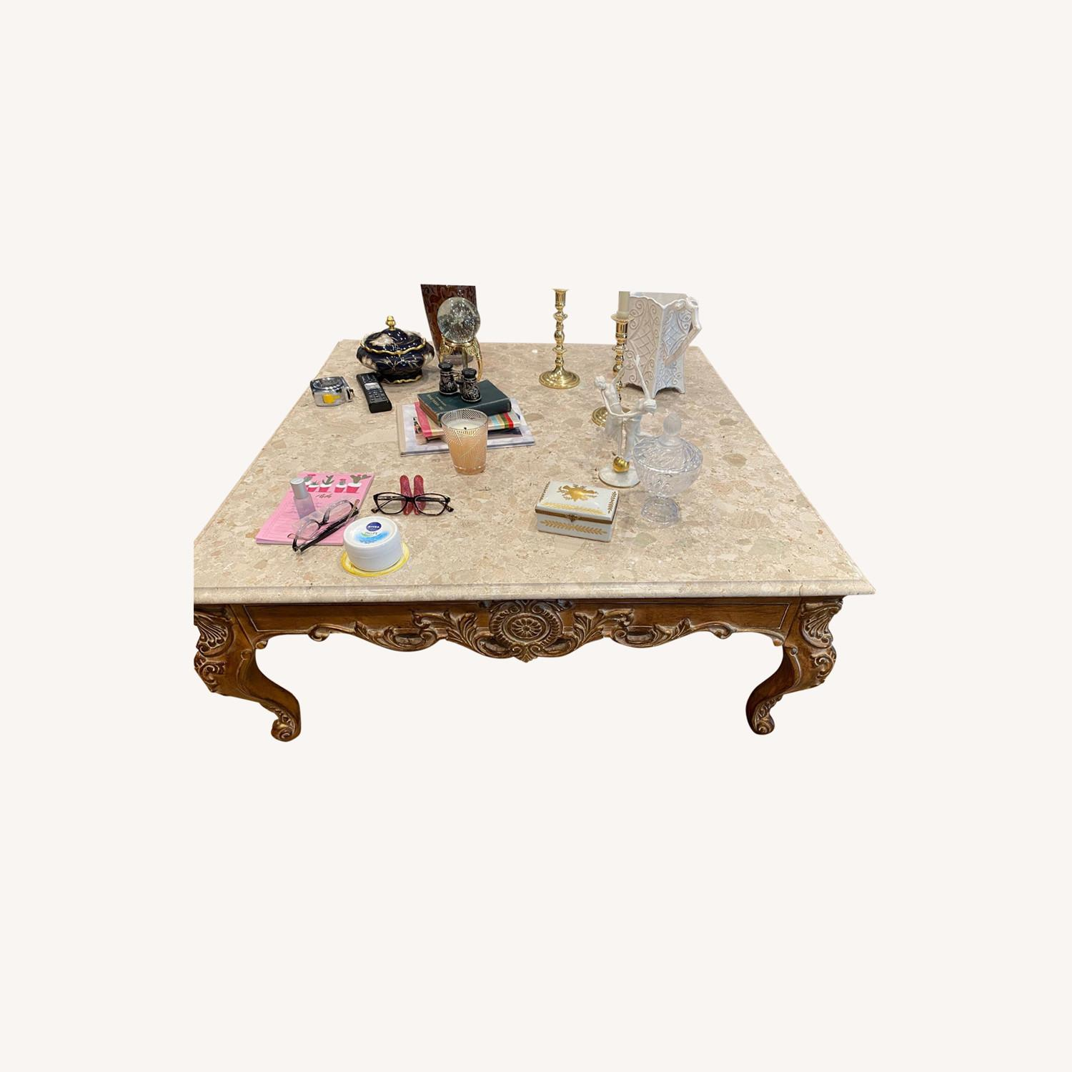 Marble Coffee Table - image-0