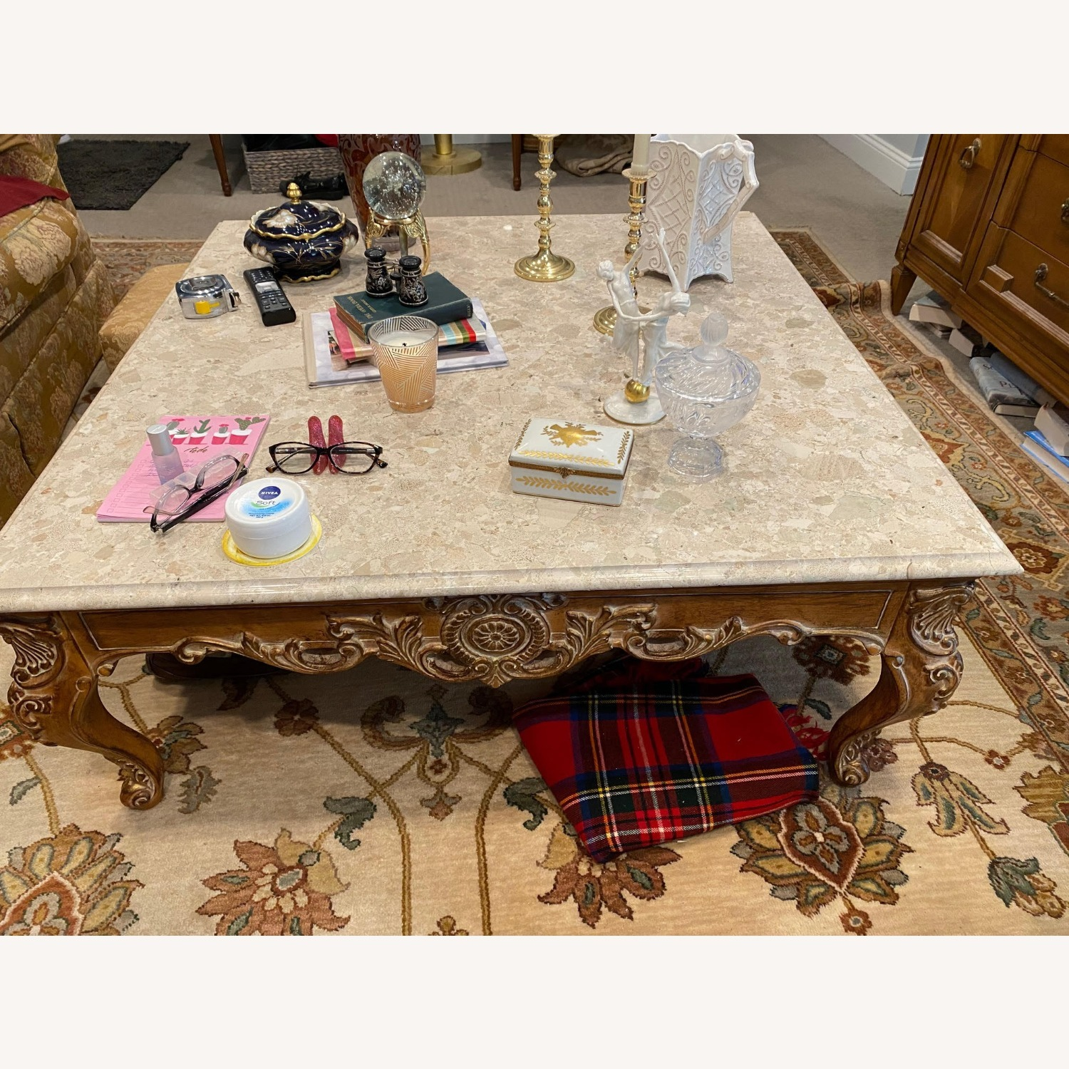 Marble Coffee Table - image-3