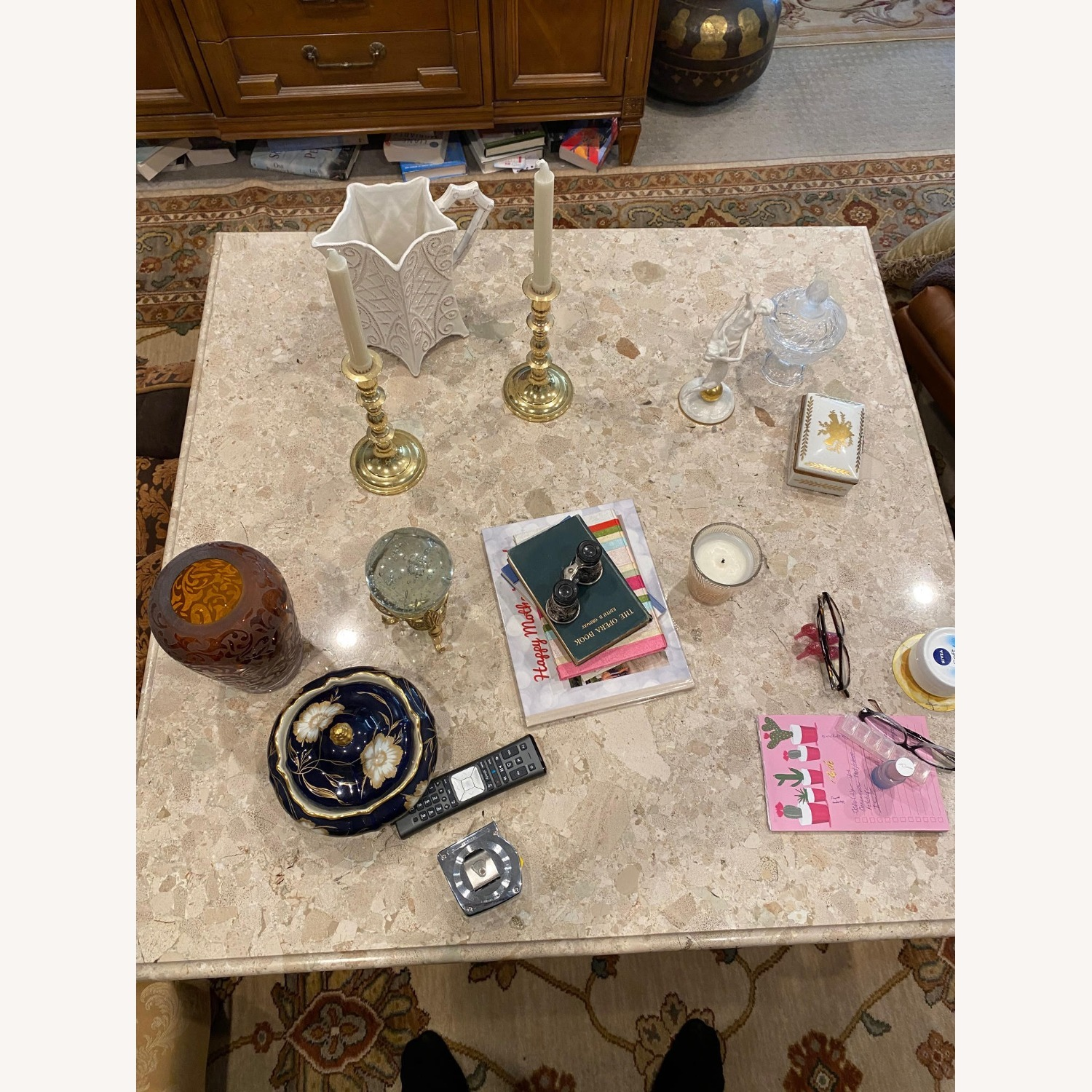 Marble Coffee Table - image-1