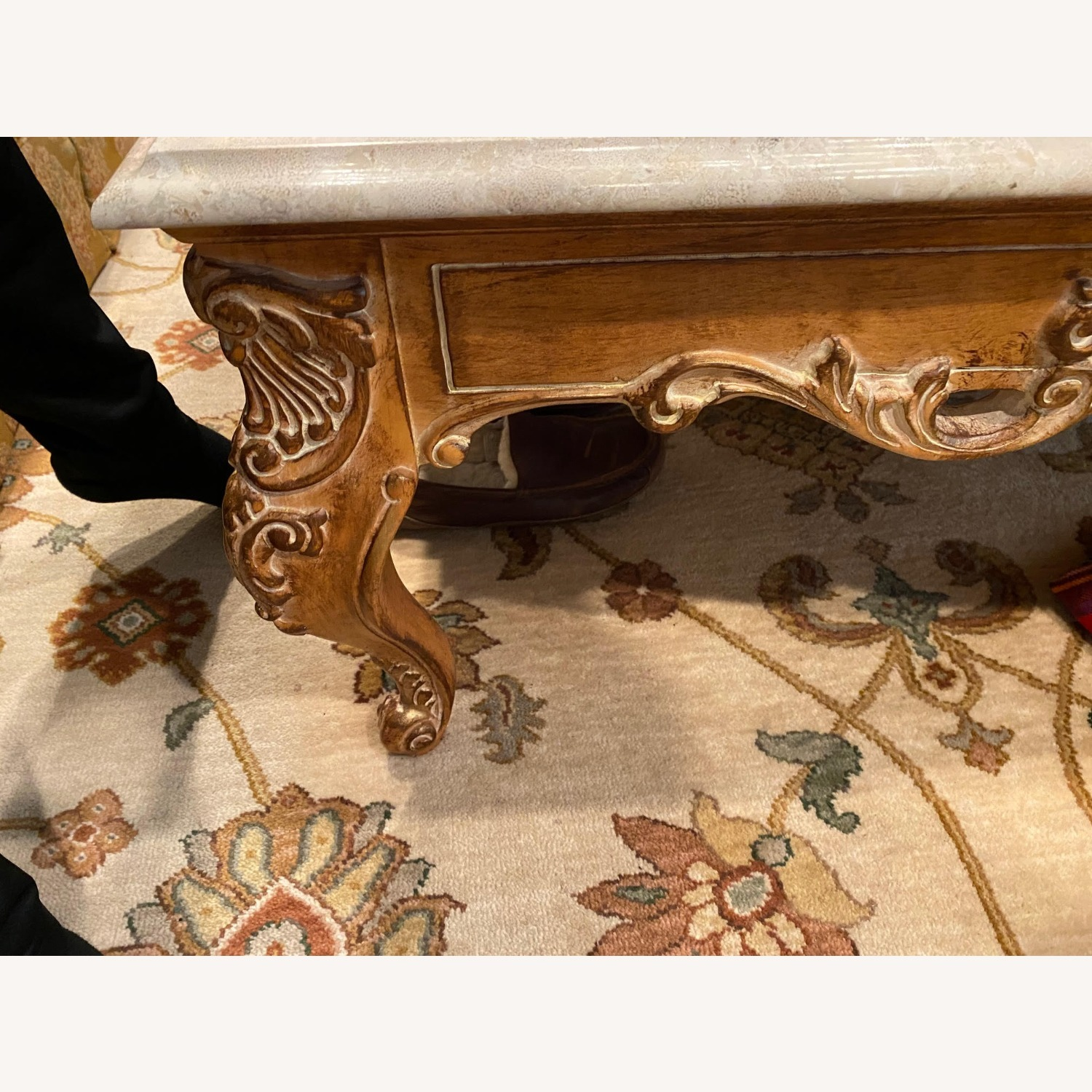 Marble Coffee Table - image-2