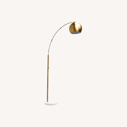 Used Adesso Astoria Arc Floor Lamp for sale on AptDeco