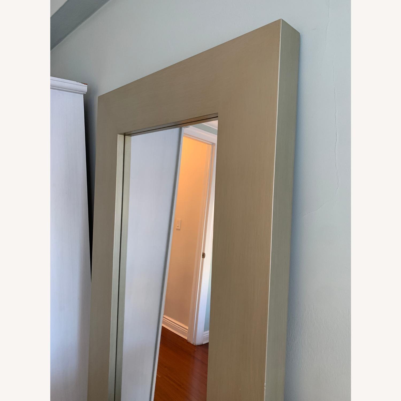 West Elm Chunky Wood Floor Mirror - image-2