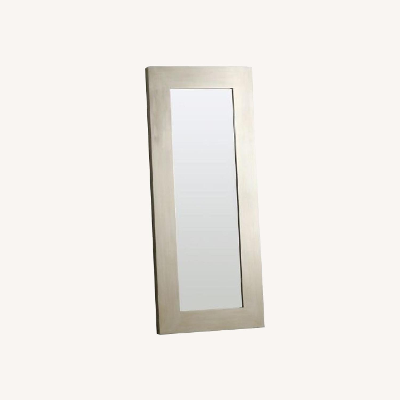 West Elm Chunky Wood Floor Mirror - image-0