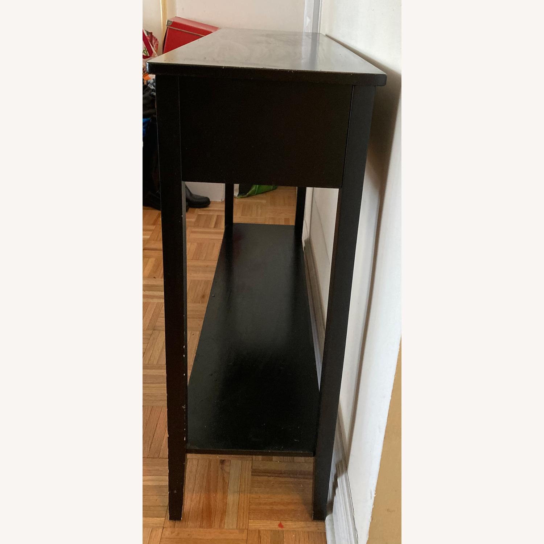 Black Wooden Credenza - image-3