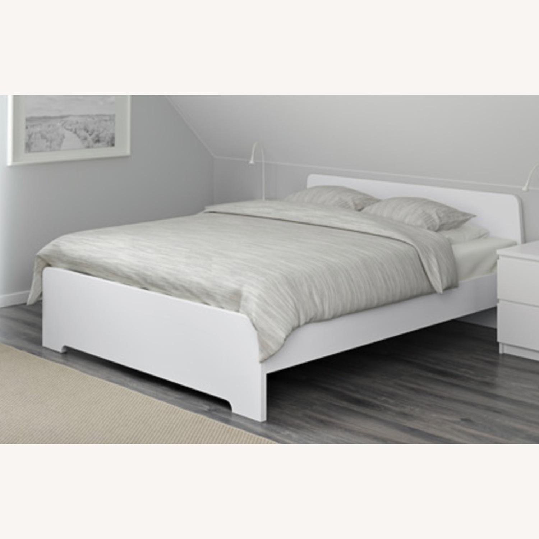 IKEA ASKVOLL White Full Size Bed - image-2