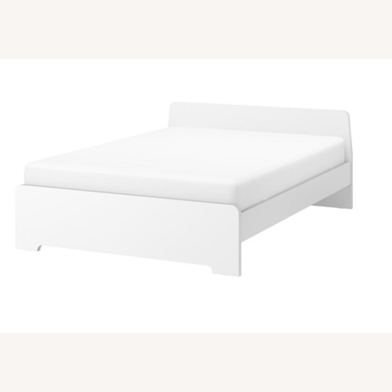 IKEA ASKVOLL White Full Size Bed - image-1