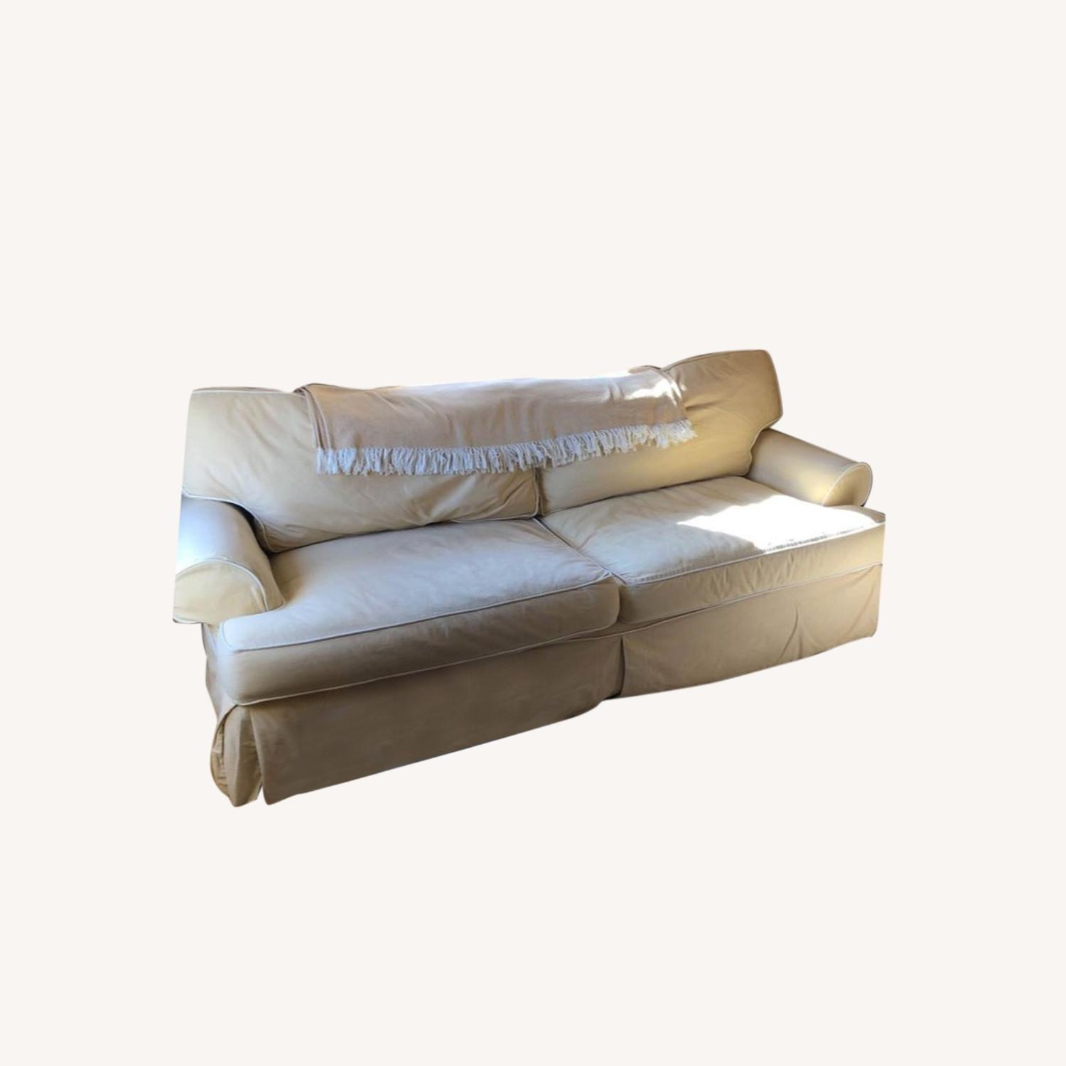 Sofa Bed with Slipcover, Queen Size - image-0