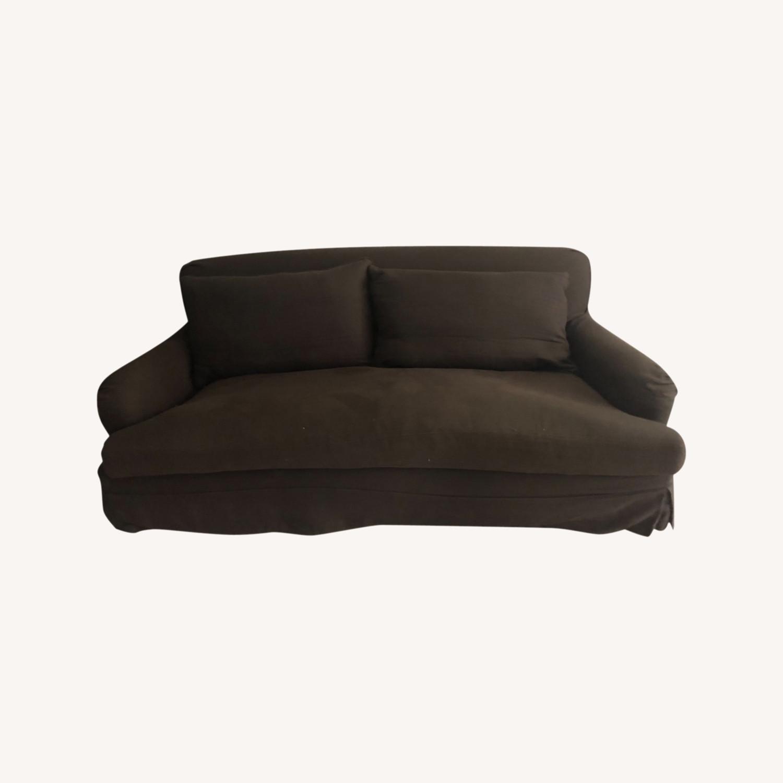 Restoration Hardware Slip Cover Sofa - image-0