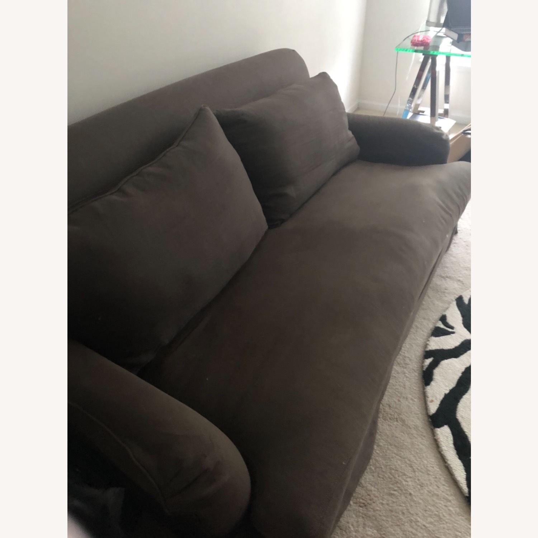 Restoration Hardware Slip Cover Sofa - image-3