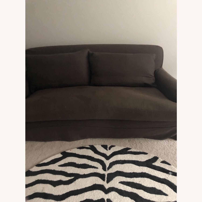 Restoration Hardware Slip Cover Sofa - image-2