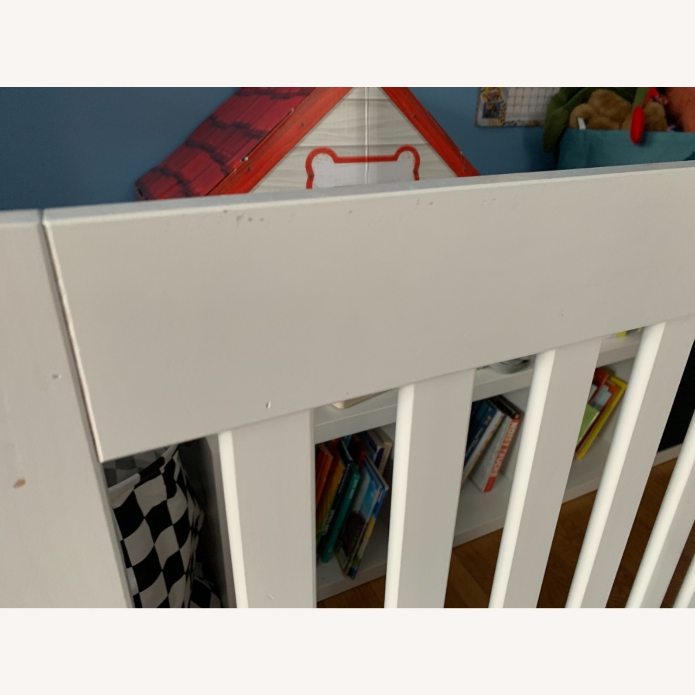 Babyletto Modo Crib white/dark wood - image-4