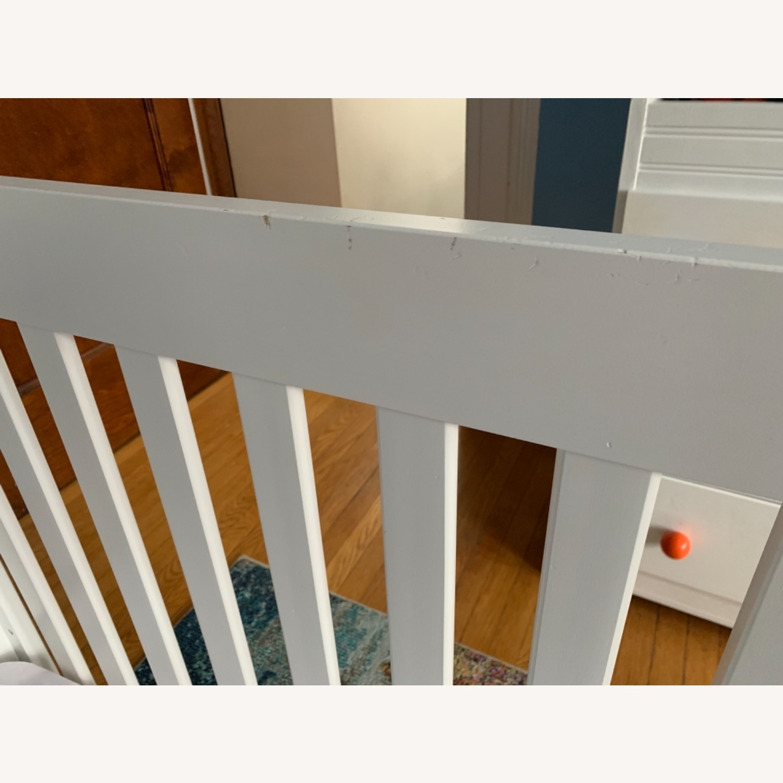 Babyletto Modo Crib white/dark wood - image-3