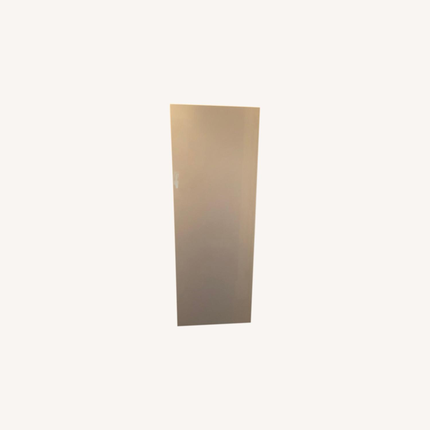 Lazzoni White Wood and Lacquer Wall Cabinet - image-3