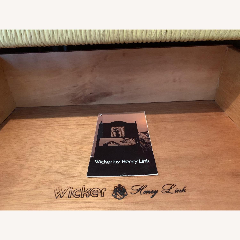 Henry Link Wicker Headboard - image-2