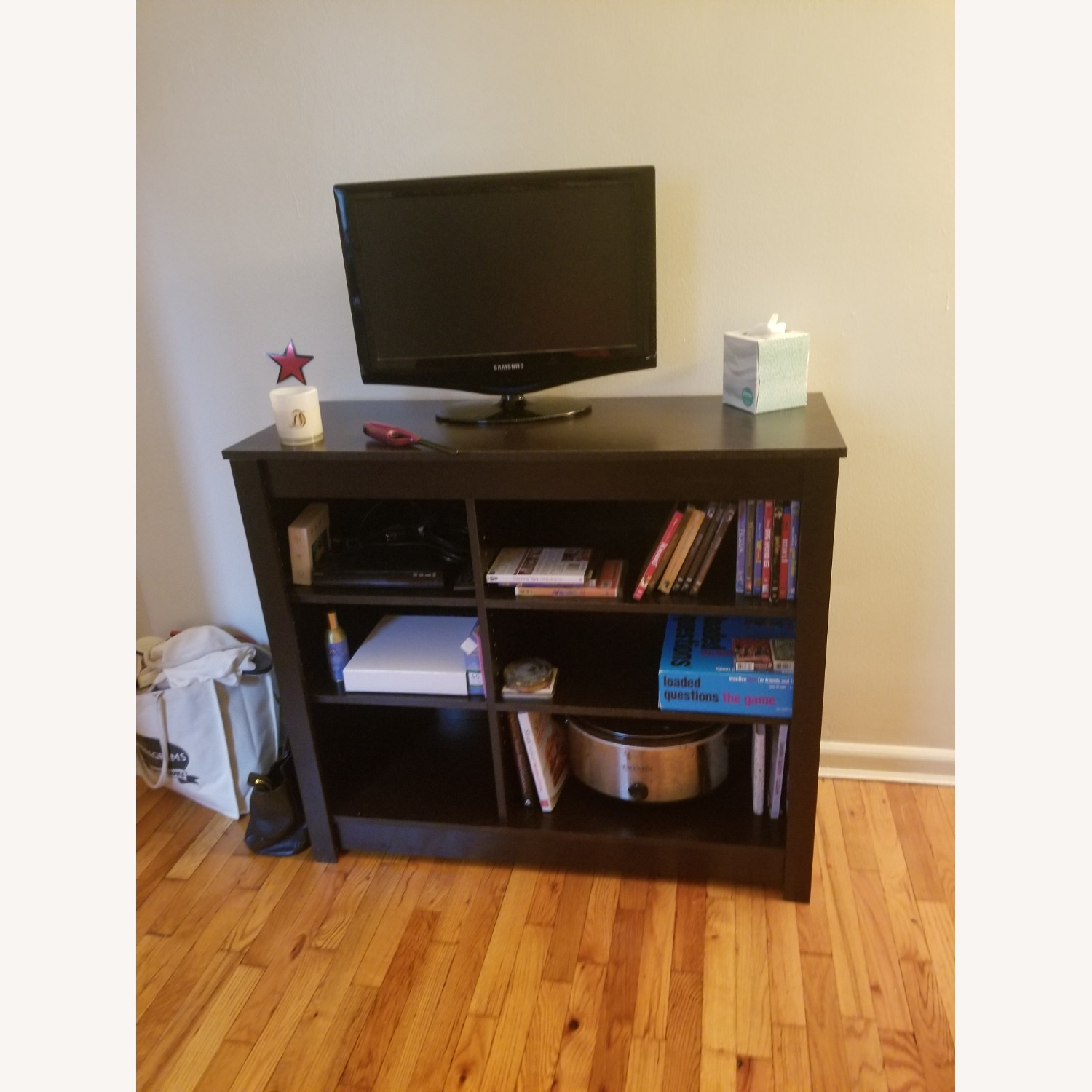Wayfair Bookcase/Entertainment Console (with TV) - image-0