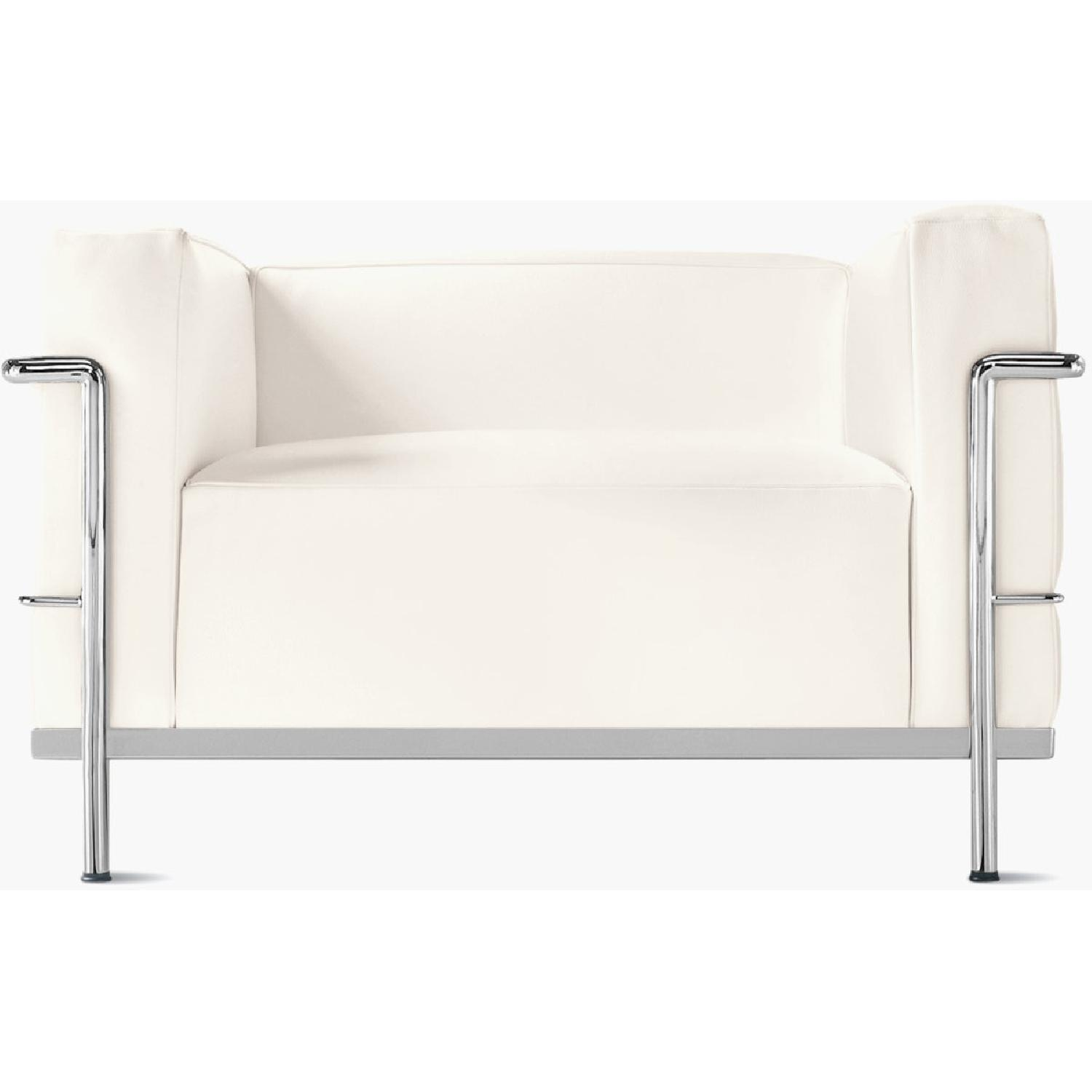Design within Reach Leather Armchair - image-5