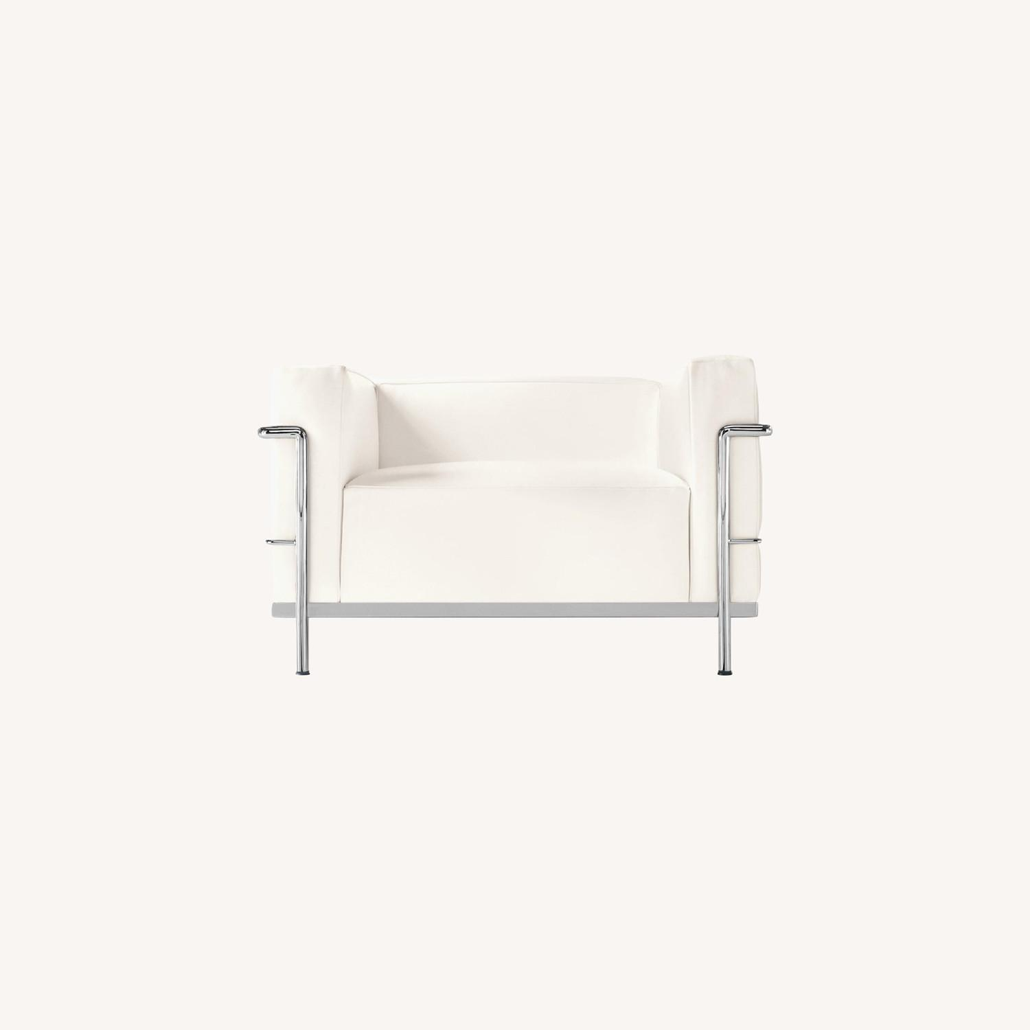 Design within Reach Leather Armchair - image-0