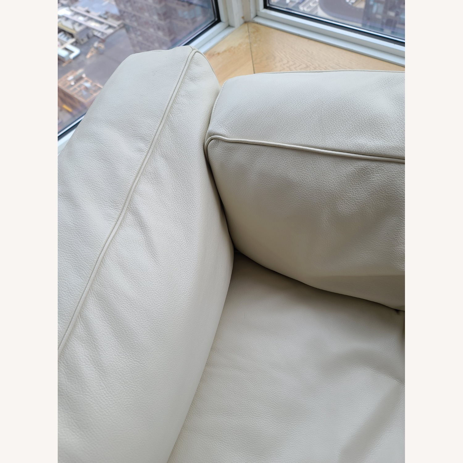 Design within Reach Leather Armchair - image-14