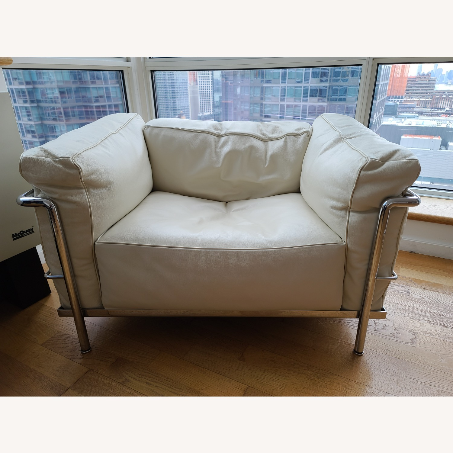 Design within Reach Leather Armchair - image-11
