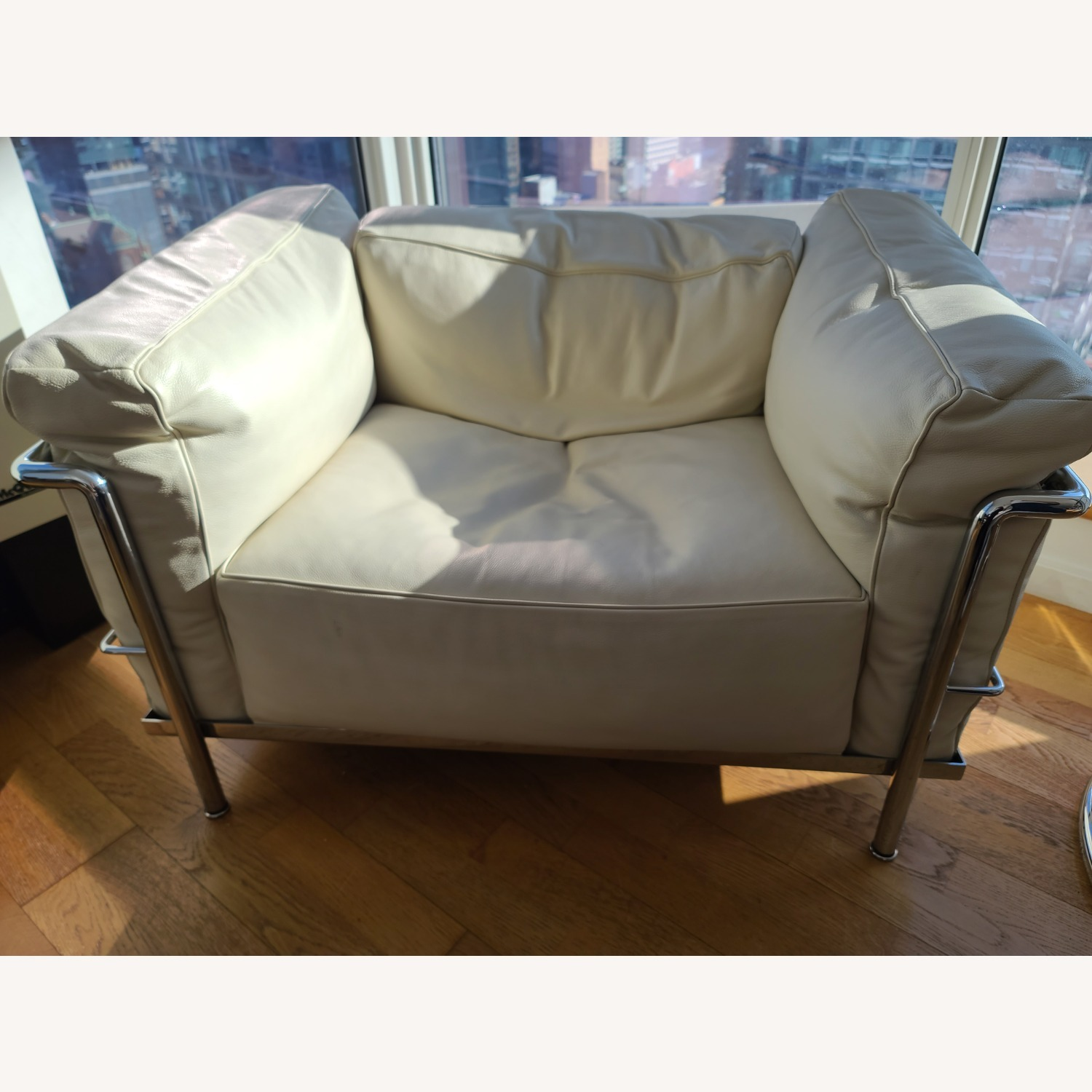 Design within Reach Leather Armchair - image-2