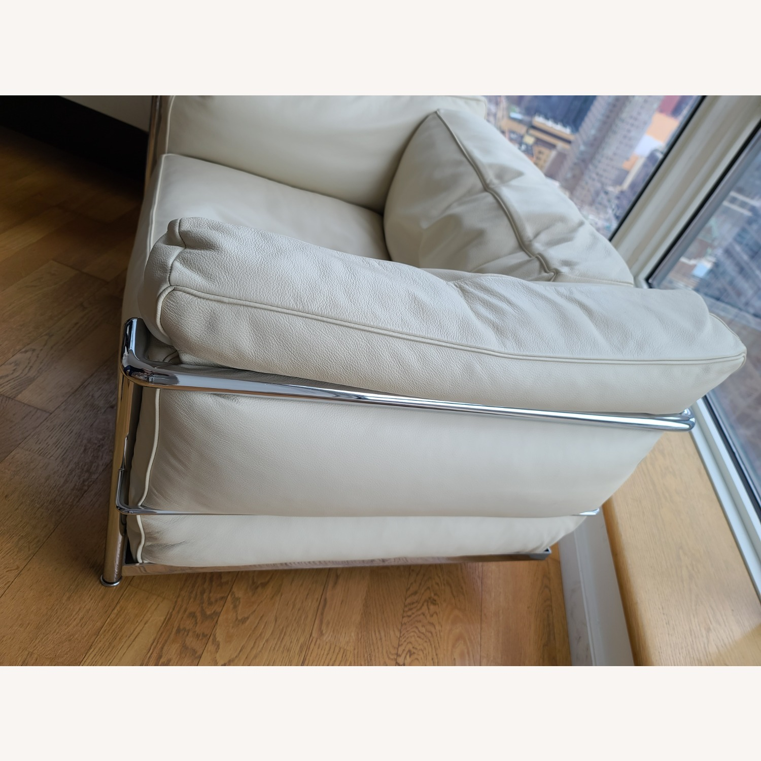 Design within Reach Leather Armchair - image-8