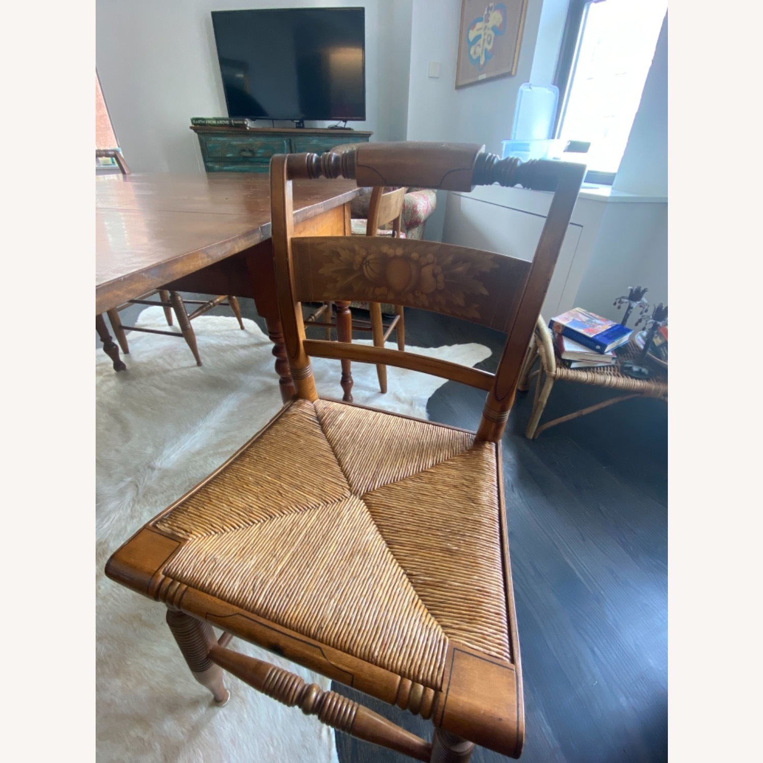 Heirloom Solid Wood Dining Table and Chairs - image-5