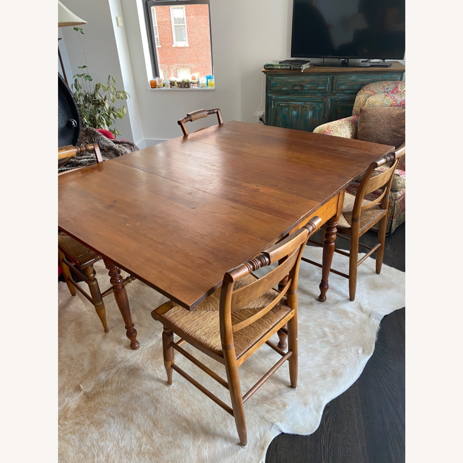 Heirloom Solid Wood Dining Table and Chairs - image-6