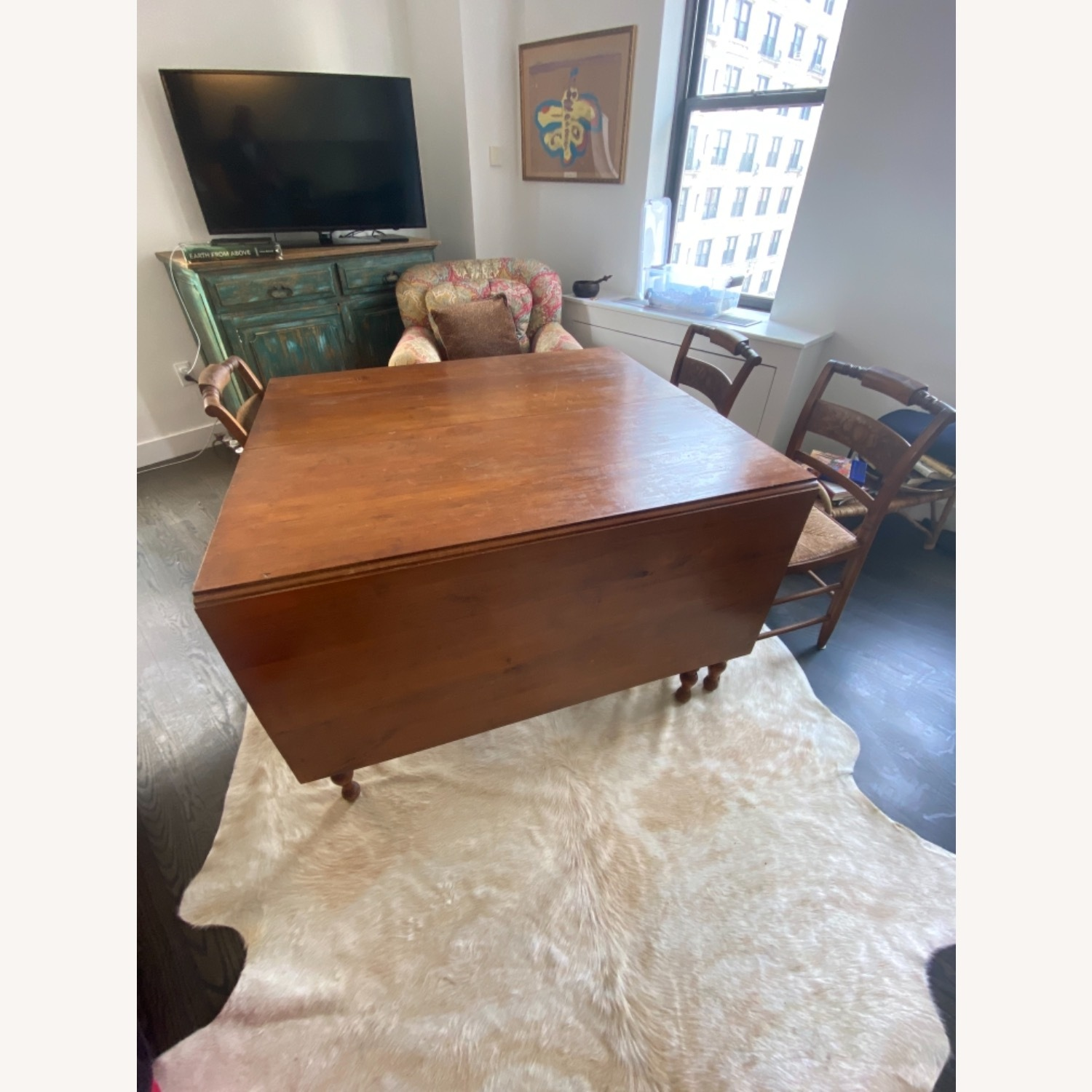 Heirloom Solid Wood Dining Table and Chairs - image-2