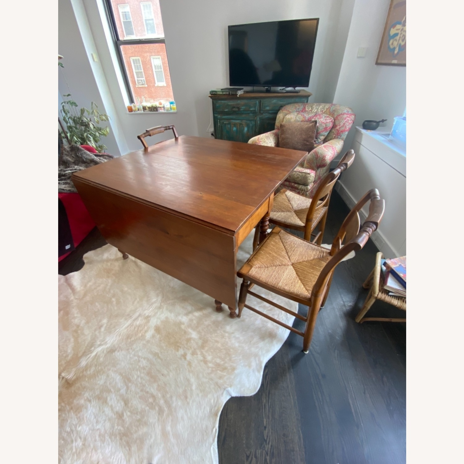 Heirloom Solid Wood Dining Table and Chairs - image-4