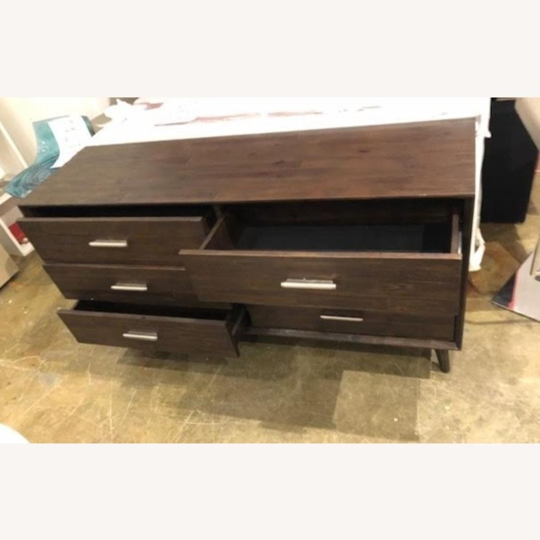 Dark Brown Dresser - image-4