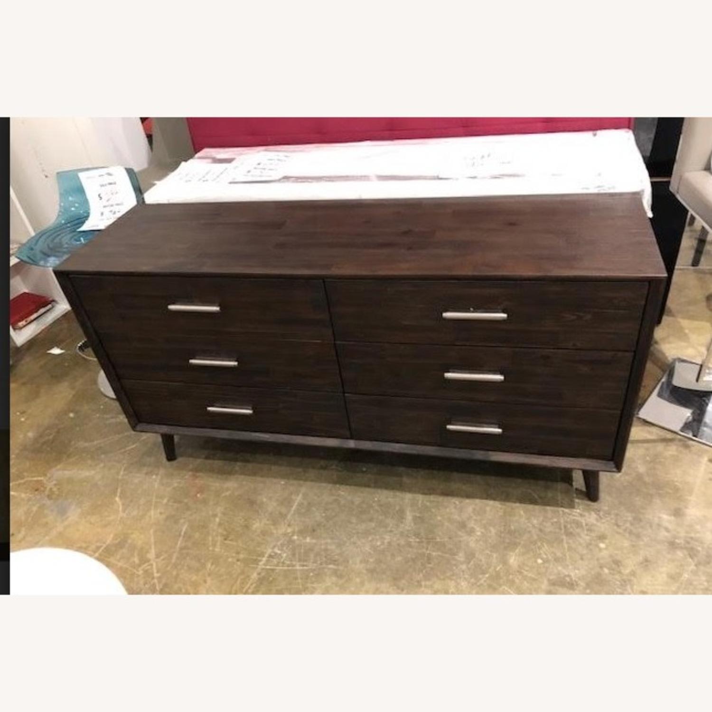 Dark Brown Dresser - image-1