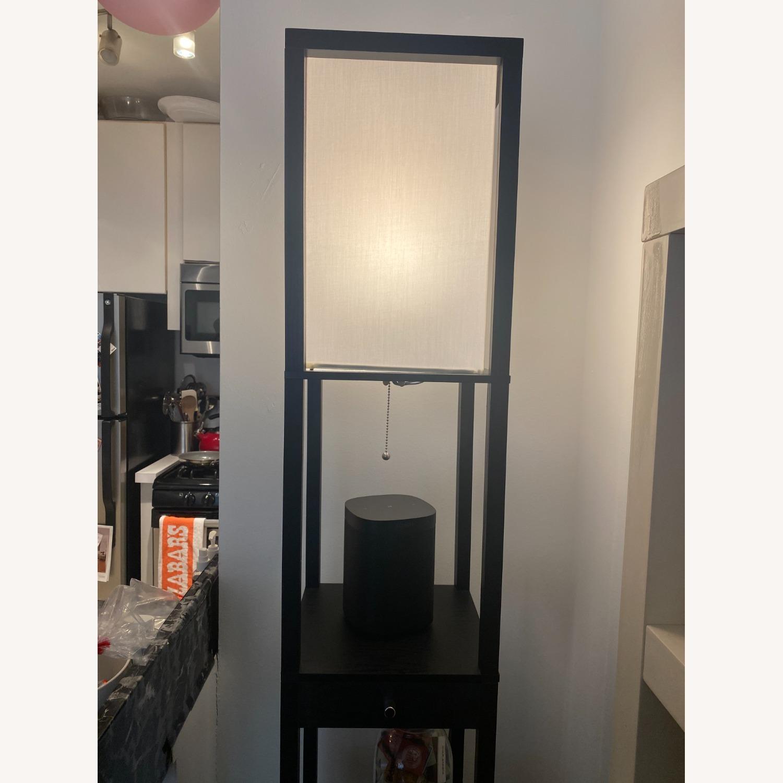 Shelf and Floor Lamp Combo - image-4