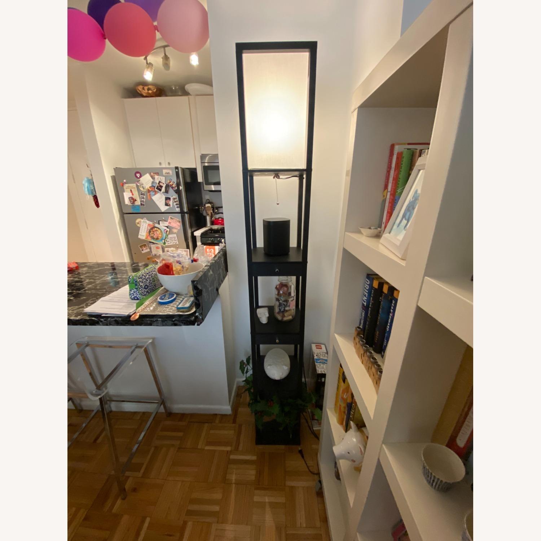 Shelf and Floor Lamp Combo - image-1