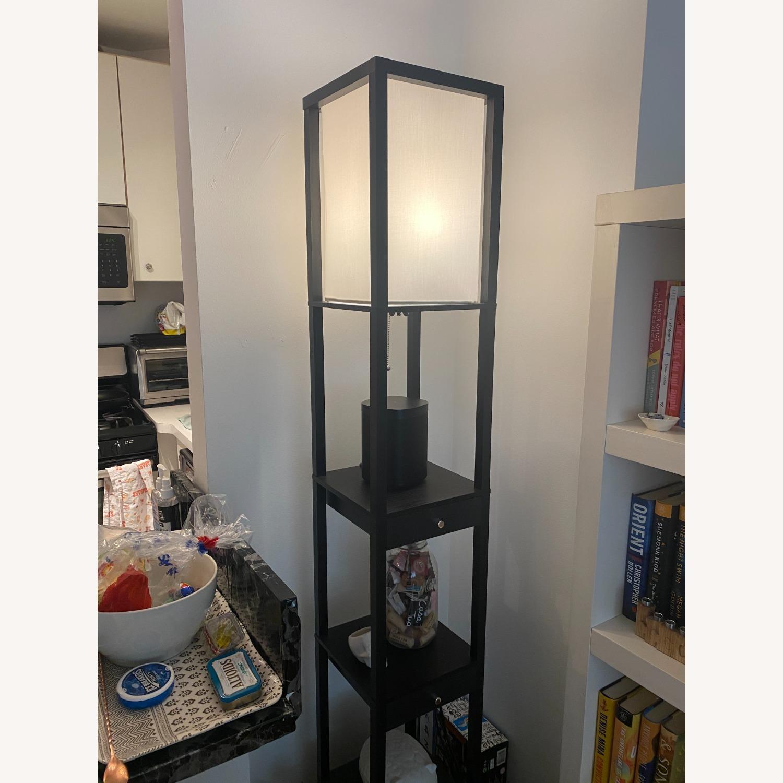 Shelf and Floor Lamp Combo - image-3