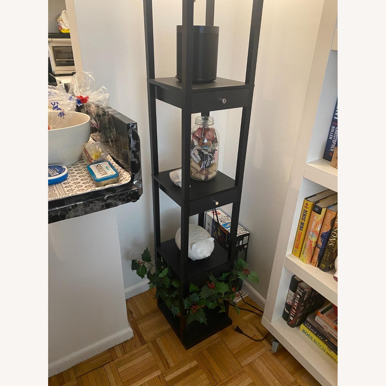 Shelf and Floor Lamp Combo - image-5